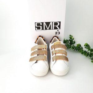 Chaussures-Traces-Baskets-GARBIS-2160-scratchs-dorés