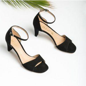 Chaussures-Traces-Mule-talon-daim-midas