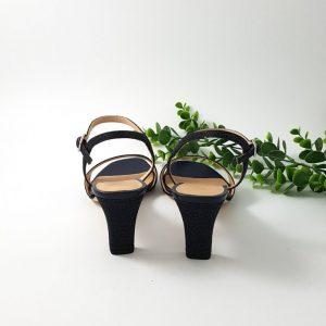 Chaussures-Traces-Sandale-talon-moyen-mechi-bleu