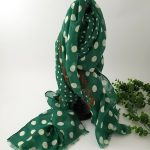 chaussures-traces-Foulards-ByO-vert-a-pois