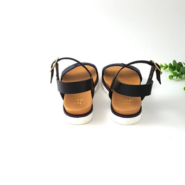 Chaussures-traces-sandales-wedo-44685-AA-noir-bleu