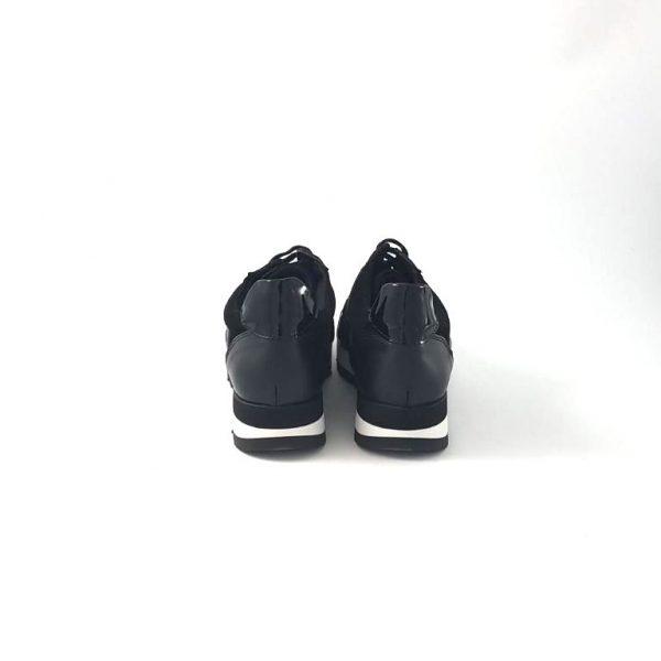 Chaussures-traces-Baskets-WEDO-33137-Noir