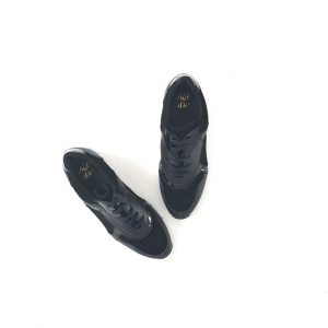 Chaussures-traces-Baskets-WEDO-33137-Noir