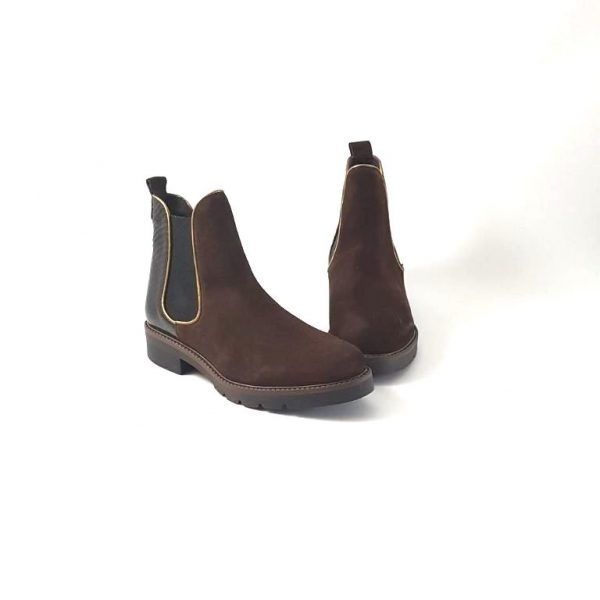 Chaussures-traces-Boots-WEDO-99334BC-Marron