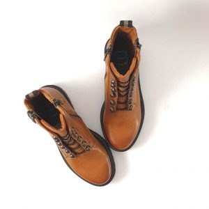 Chaussures-traces-Bottines-Mjus-158244-Brandy