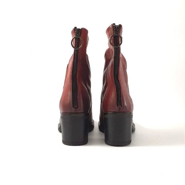 Chaussures-traces-Bottines-Mjus-M67206-Rouge