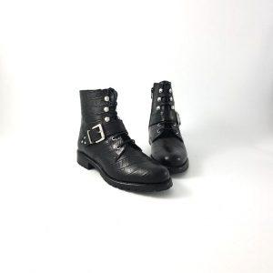 Chaussures-traces-wedo-bottines-77707LA-noir
