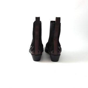 Chaussures-traces-Scotch-and-soda-Boots-Corall-Black-bordo