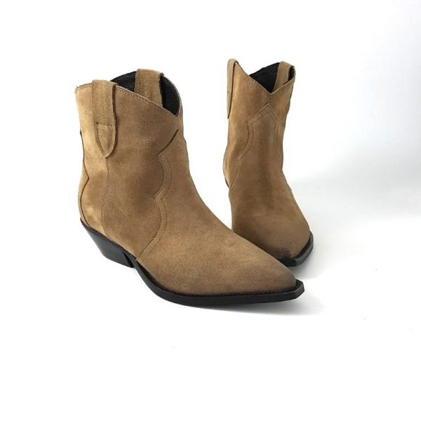 Chaussures-traces-Semerdjian-Boots-Taupe-ER171