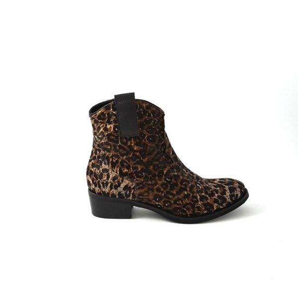Chaussures-traces-Semerdjian-Boots-léopard-ER304L