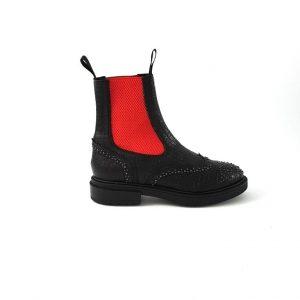 Chaussures-traces-Semerdjian-Boots-noir-FK331