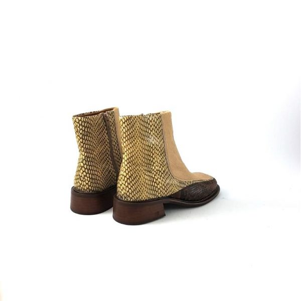 chaussure-traces-Bottines-Scotch-and-Soda-Devie-Beige-Reptil