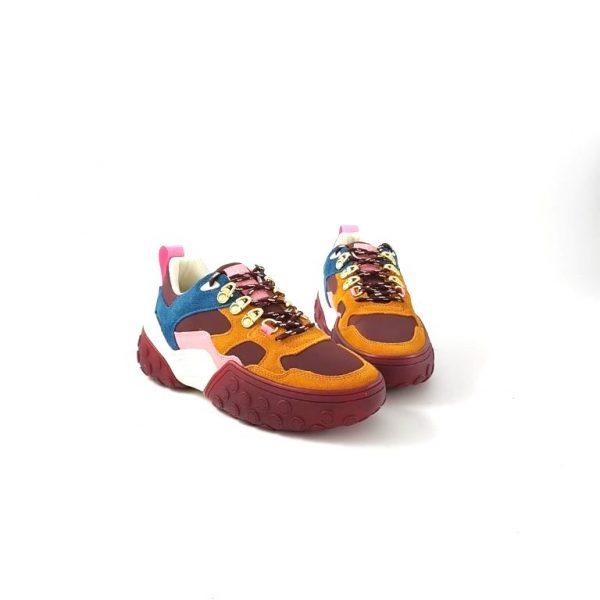 chaussures-traces-Sneakers-Scotch-and-Soda-Belva-Bordo-multi