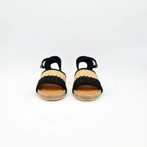 chaussures-traces-Espadrilles-BARTOW-KS-BLACK