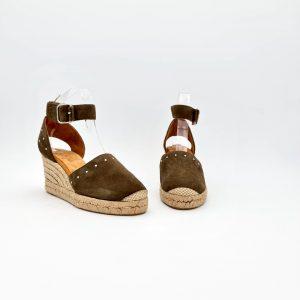 chaussures-traces-Espadrilles-Unisa-en-daim-CLIVER-KAKI