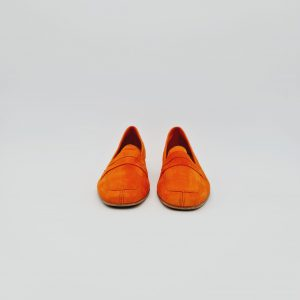 chaussures-traces-Mocassin-WeDo-daim-Orange-CO11029AN