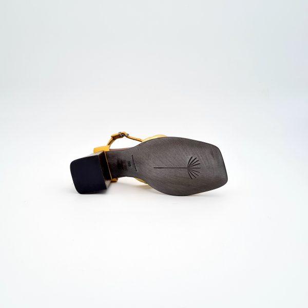 chaussures-traces-Sandales-LILIMILL-Zeus-Or-et-Moutarde