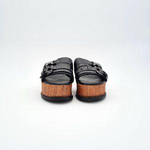 chaussures-traces-Mules-plateforme-Mjus-M99010-Noir