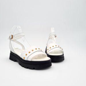 chaussures-traces-Sandale- Mjus-M87014-Blanc
