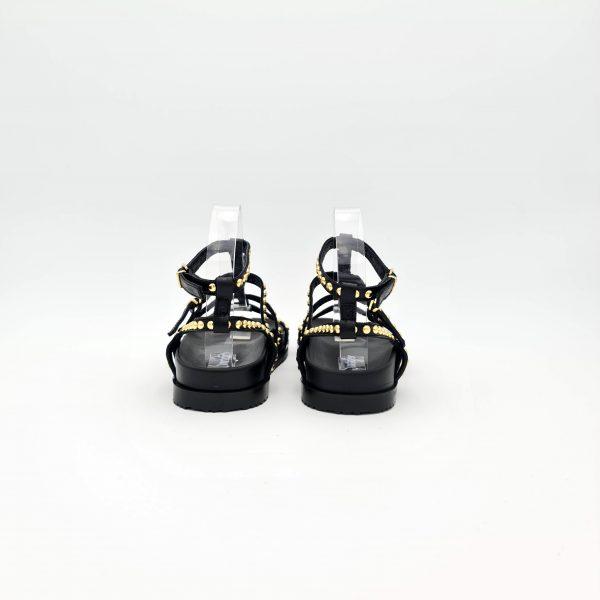 chaussures-traces-Sandales-Semerdjian-E559E6-Noir-clous