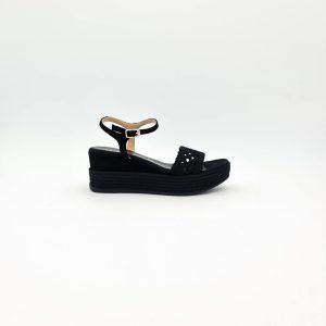 chaussures-traces-Sandales-compensée-Unisa-KISOME-Noir