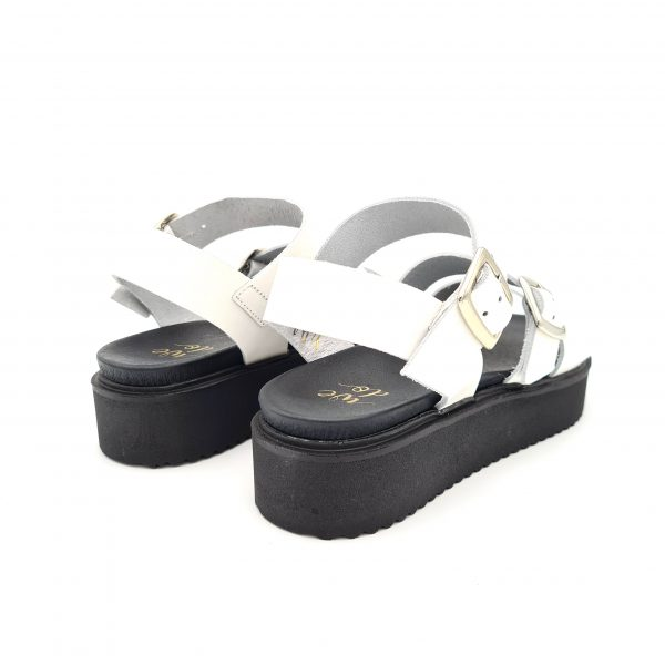 chaussures-traces-Sandales-cuir-WEDO-CO45006-Blanc