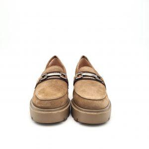 chaussres-traces-Mocassins-JIGA-KS-Taupe-Unisa