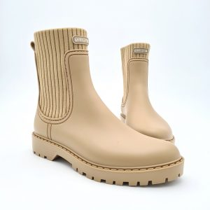 chaussures-traces-Boots-Taupe-AYNAR-Unisa