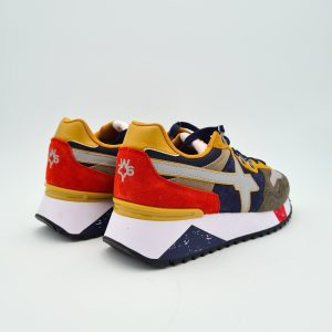 chaussures-traces-Sneakers-W6YZ-1F09-YAK-Militaire-Navy