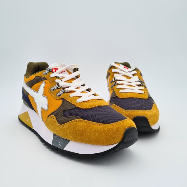 chaussures-traces-Sneakers-W6YZ-1G02-YAK-Zucca-Navy