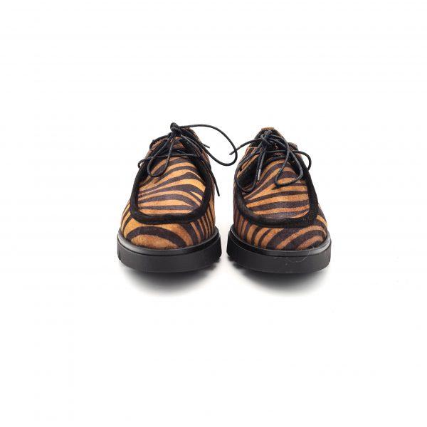 chaussures-traces-Derbies-Warhol-zebre-Gaimo